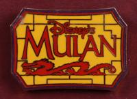 "Thomas Kinkade ""Mulan"" 17x17 Custom Framed Print Display with Official ""Mulan"" Release Pin at PristineAuction.com"
