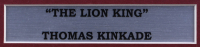 "Thomas Kinkade ""The Lion King"" 17x17 Custom Framed Print at PristineAuction.com"