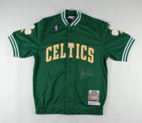 Larry Bird Signed Celtics Warm-Up Jacket (Schwartz COA & Bird Hologram) at PristineAuction.com
