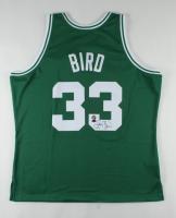 Larry Bird Signed Celtics Jersey (Schwartz Sports COA & Bird Hologram) at PristineAuction.com