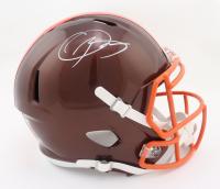 Odell Beckham Jr. Signed Browns Full-Size Flash Alternate Speed Helmet (Beckett Hologram) at PristineAuction.com