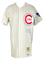 """Fergie Jenkins Signed Cubs Mitchell & Ness Jersey Inscribed """"Cy Young 1971"""" (JSA Hologram) at PristineAuction.com"""