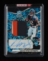 David Montgomery 2019 Panini Spectra Neon Blue Jersey Autograph #211 RC 24/75 at PristineAuction.com