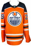 Leon Draisaitl Signed Oilers Fanatics Jersey (Fanatics Hologram) at PristineAuction.com
