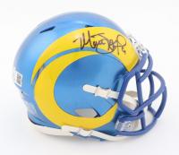 Matthew Stafford Signed Rams Speed Mini Helmet (Beckett COA & Fanatics Hologram) at PristineAuction.com