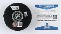 Marc-Andre Fleury Signed Golden Knights Logo Hockey Puck (Beckett COA & Fanatics Hologram) at PristineAuction.com