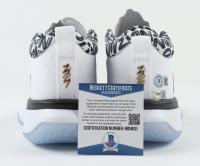 Zion Willimson Signed Pair of (2) Air Jordan Basketball Shoes (Beckett COA & Fanatics Hologram) at PristineAuction.com