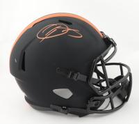 Odell Beckham Jr. Signed Browns Full-Size Eclipse Alternate Speed Helmet (Beckett Hologram) (See Description) at PristineAuction.com
