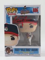"Charlie Sheen Signed ""Major League"" #886 Ricky ""Wild Thing"" Vaughn Funko Pop! Vinyl Figure (Beckett COA) at PristineAuction.com"