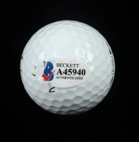 Jack Nicklaus Signed Masters Logo Golf Ball (Beckett LOA) at PristineAuction.com