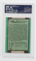 Rod Carew Signed 1991 Bowman #1 (PSA Encapsulated) at PristineAuction.com