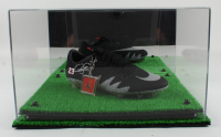 Neymar Signed Nike Hypervenom Model Soccer Cleat with Display Case (PSA COA) at PristineAuction.com