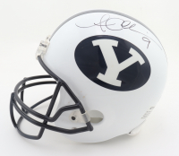 Austin Collie Signed BYU Cougars Full-Size Helmet (Beckett COA) (See Description) at PristineAuction.com