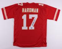 Mecole Hardman Signed Jersey (Beckett Hologram) (See Description) at PristineAuction.com
