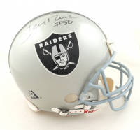 Jerry Rice Signed Raiders Full-Size Authentic On-Field Helmet (NSD LOA & Rice Hologram) at PristineAuction.com