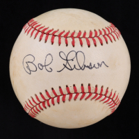 Bob Gibson Signed OML Baseball (JSA COA) at PristineAuction.com