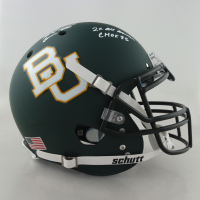 """Mike Singletary Signed Baylor Bears Full Size Helmet Inscribed """"Samurai Mike"""", """"2X All American"""" & """"CHOF 95"""" (JSA COA) (See Description) at PristineAuction.com"""
