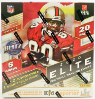 2020 Donruss Elite Football Hobby Box with (20) Packs at PristineAuction.com