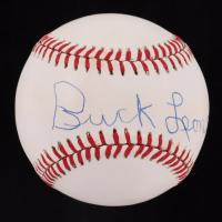 Buck Leonard Signed OAL Baseball (JSA COA) at PristineAuction.com