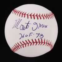 "Monte Irvin Signed OML Baseball Inscribed ""HOF-73"" (JSA COA) at PristineAuction.com"