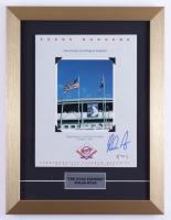 Nolan Ryan Signed Rangers 13x17 Custom Framed Vintage Original Photo Display (PSA COA) (See Description) at PristineAuction.com