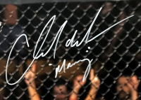 """Chad Mendes Signed UFC 16x20 Photo Inscribed """"Money"""" (Fanatics Hologram) at PristineAuction.com"""