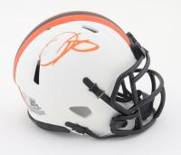 Odell Beckham Jr. Signed Browns Lunar Eclipse Alternate Speed Mini Helmet (Beckett COA) at PristineAuction.com