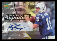 Peyton Manning 2007 Upper Deck Trilogy America's Game Signatures #PM #24/33 at PristineAuction.com