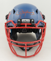 Lawrence Taylor Signed Full-Size Authentic On-Field Hydro Dipped Vengeance Helmet (Beckett COA) at PristineAuction.com
