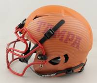 Mike Alstott Signed Full-Size Authentic On-Field Hydro Dipped Vengeance Helmet (Beckett COA) at PristineAuction.com