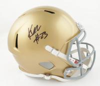 Kyren Williams Signed Notre Dame Fighting Irish Full-Size Speed Helmet (JSA COA) at PristineAuction.com