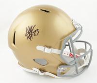 Kyren Williams Signed Notre Dame Fighting Irish Full-Size Speed Helmet (JSA COA) (See Description) at PristineAuction.com
