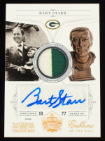 Bart Starr 2011 Playoff National Treasures Ring of Honor Signatures #1 #8/15 at PristineAuction.com