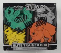 Pokemon Evolving Skies Elite Trainer Box (Jolteon-Leafeon-Umbreon-Flareon) (See Description) at PristineAuction.com