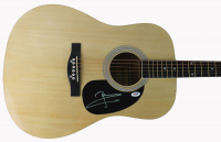 "Pete Townshend Signed 39"" Acoustic Guitar (PSA COA) at PristineAuction.com"