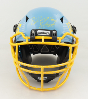 """Shawne Merriman Signed Full-Size Authentic On-Field Hydro Dipped Vengeance Helmet Inscribed """"Lights Out"""" (PSA COA) at PristineAuction.com"""