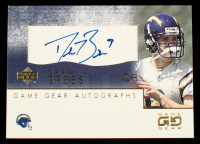 Drew Brees 2001 UD Game Gear Autographs #DBGS at PristineAuction.com