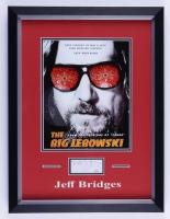 Jeff Bridges Signed 14x18.5 Custom Framed Cut Display (JSA COA) at PristineAuction.com