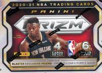 2020-21 Panini Prizm NBA Basketball Blaster Box with (6) Packs at PristineAuction.com