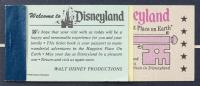 Vintage Disneyland Haunted Mansion 16x27 Custom Framed Print Display with Vintage Ticket Book & Resin Emblem at PristineAuction.com