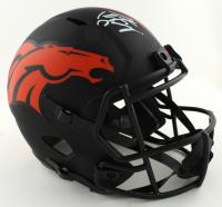 Peyton Manning Signed Broncos Full-Size Eclipse Alternate Speed Helmet (Fanatics Hologram) (See Description) at PristineAuction.com