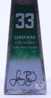 "Larry Bird Signed Hall of Fame 14"" Championship Basketball Trophy (Schwartz Sports COA & Bird Hologram) at PristineAuction.com"