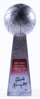 "Bob Knight Signed 14"" Basketball Championship Trophy (Schwartz Sports COA) at PristineAuction.com"