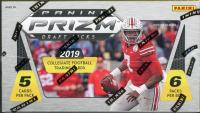 2019 Panini Prizm Draft Picks Football Blaster Box with (6) Packs at PristineAuction.com