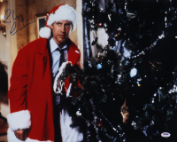 """Chevy Chase Signed """"National Lampoon's Christmas Vacation"""" 16x20 Photo (PSA COA) at PristineAuction.com"""
