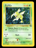 Scyther 1999 Pokemon Jungle #10 Holo at PristineAuction.com