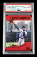 Derek Jeter 1995 Signature Rookies Old Judge Star Squad Signatures #3 (PSA Authentic) at PristineAuction.com