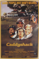 """Chevy Chase Signed """"Caddyshack"""" 24x36 Poster (Beckett COA) (See Description) at PristineAuction.com"""