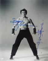 """Sonny Chiba Signed """"The Street Fighter"""" 16x20 Photo with Inscription (JSA COA) at PristineAuction.com"""