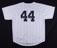 Reggie Jackson Signed LE Jersey with Multiple Inscriptions (Mounted Memories Hologram) at PristineAuction.com